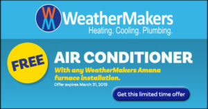 Coupon for Amana furnace and a/c deal
