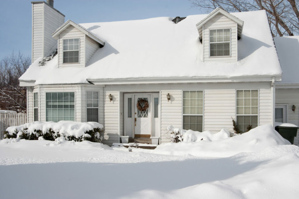 Humidifier Installation Edmonton Home Comfort CompanyHome covered in snow